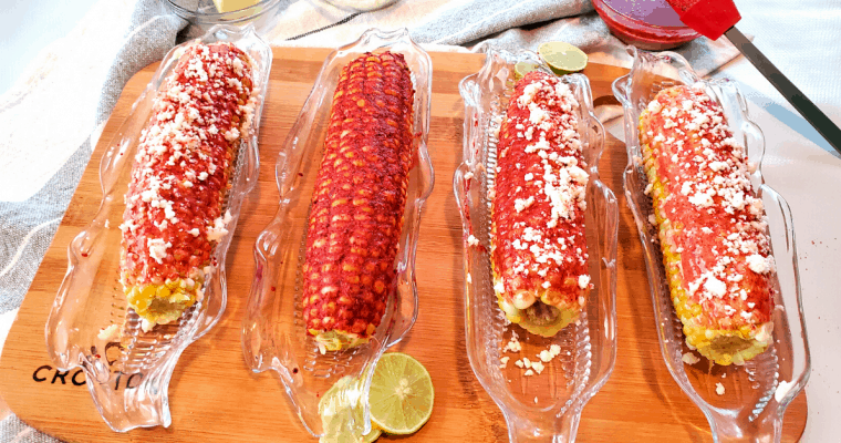 MEXICAN CORN ON THE COB CHILE RECIPE