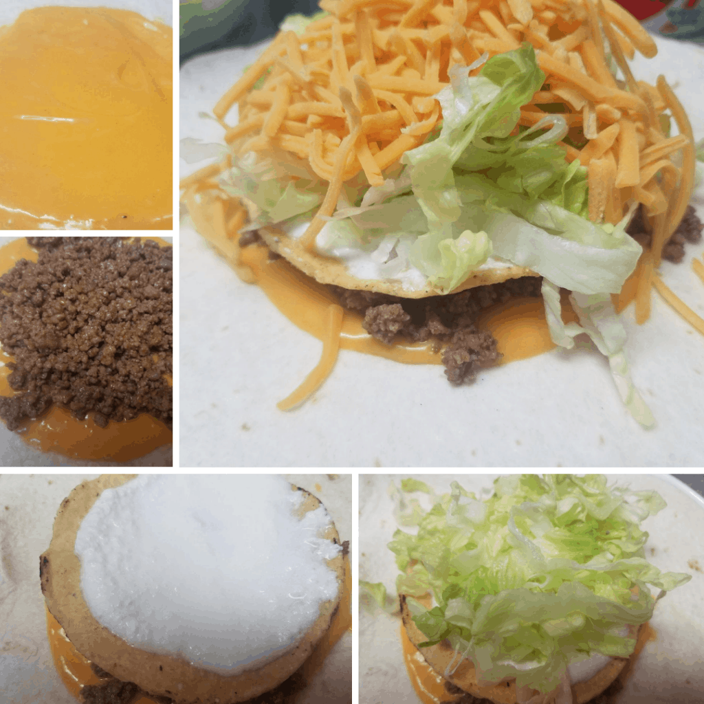 crunchy wrap taco bell