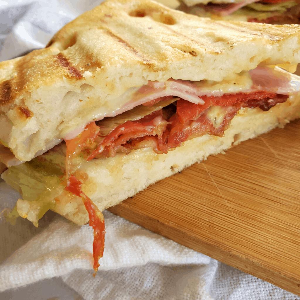 receta de paninis caseros