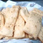 pan de ajo en 30 minutos