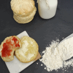 Biscuits con harina de hotcakes