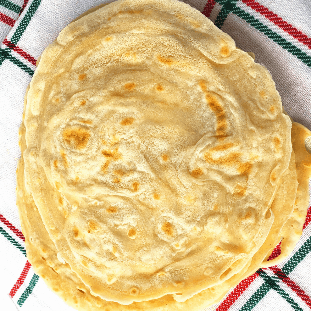 TORTILLAS DE HARINA SIN PALOTEAR