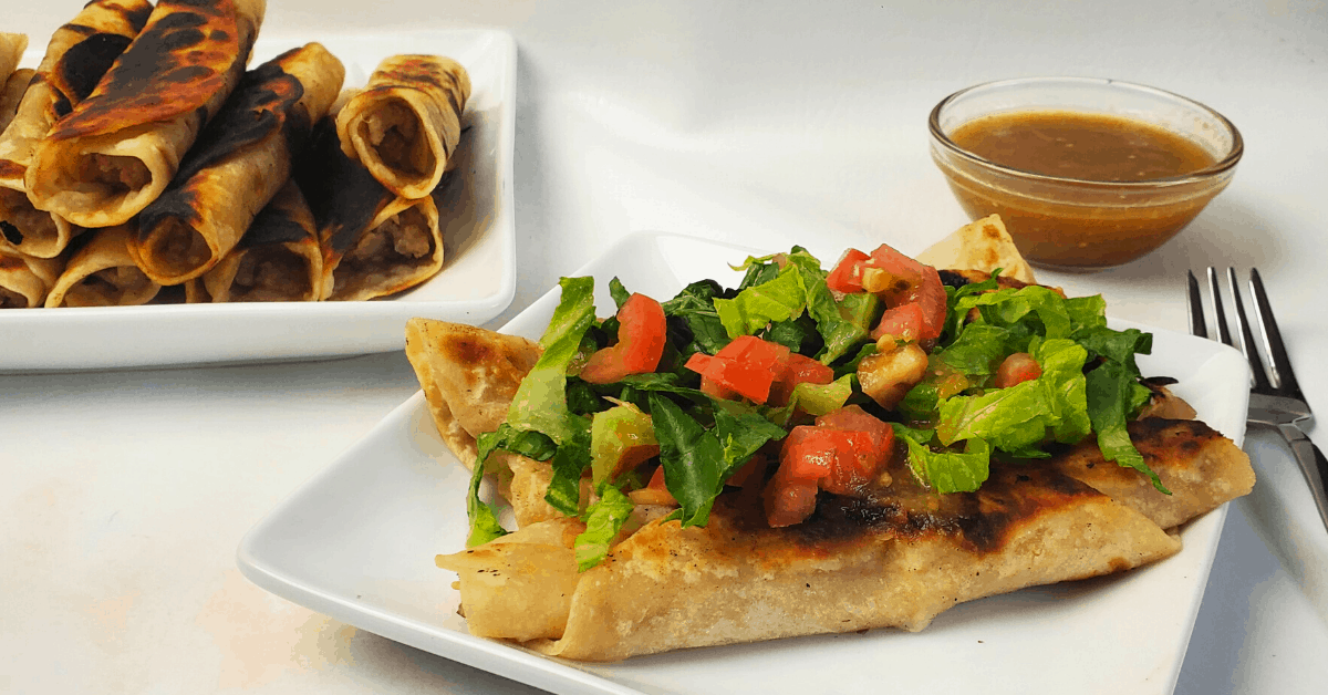 Easy Mexican Chimichangas Recipe