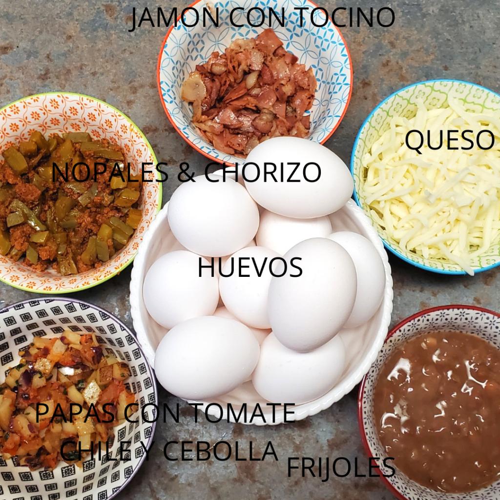 Desayunos con huevo receta